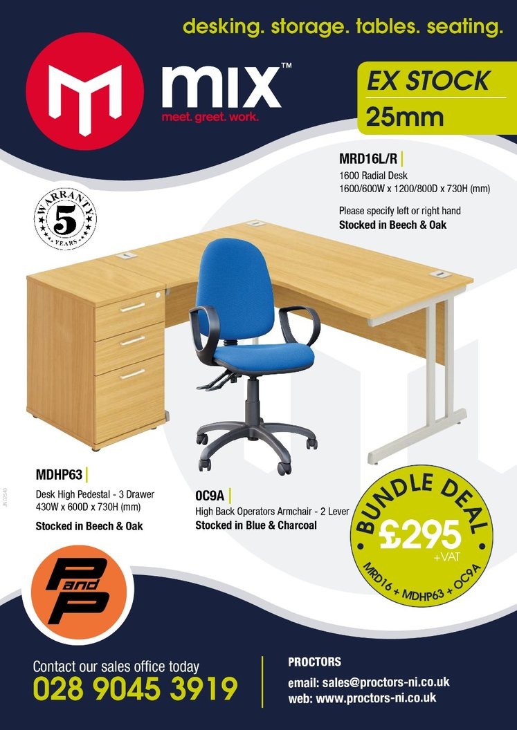 Office Furniture from Proctor's NI